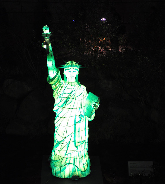 Statue of Liberty at the Seoul Lantern Festival