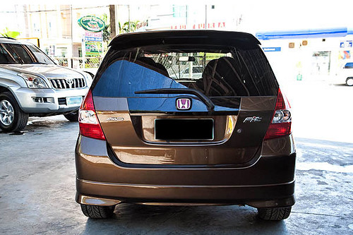 Cars for Sale in Cebu - Honda Fit (Brown)