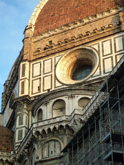 Brunelleschi, Duomo Tribune (NW)