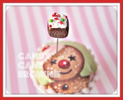 peppermint sprinkle brownie pin topper (Pinks & Needles (used to be Gigi & Big Red)) Tags: quilt sewing craft sew pincushion etsy gigiminor pinksandneedles pintoppers pintopper sewingpin