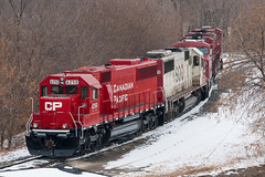 CP 6250 (John Fladung) Tags: railroad train canadianpacific cp emdsd60 humboldtyard cp6250 soorepaint
