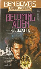 Rebecca Ore - Becoming Alien (Tor 1988) (horzel) Tags: sciencefiction maren bookcover torbooks rebeccaore