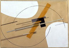 Lissitzky, El (1890-1941) - 1922-23 Proun (Solomon R. Guggenheim Museum, New York City) (RasMarley) Tags: 1920s abstract painter jewish guggenheim 1922 russian 20thcentury constructivism lissitzky suprematism ellissitzky proun geometricabstraction