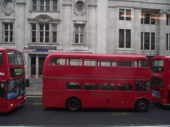 RM1562 (562CLT) 16-03-2012 Trafalgar Sq.2 (routemaster2217) Tags: bus london transport doubledecker rm londontransport tfl transportforlondon halfcab firstlondon classicbus aecroutemaster heritagebus rm1652