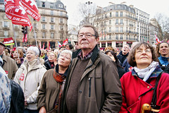 Front de Gauche : Reprendre la Bastille (dprezat) Tags: street portrait people paris election union contest nation protest meeting pcf politique bastille marche manifestation politic 2012 opposition gauche cgt communiste prsidentielle communard lacommune jeanlucmlanchon mlanchon sonyalpha700 frontdegauche 6emerpublique