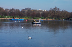 Through the Looking Glass - London (Natali Antonovich) Tags: park reflection london nature landscape spring couple pair hydepark relaxation throughthelookingglass throughthelookingglasslondon
