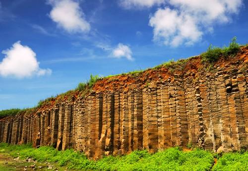 澎湖全島都是多樣的玄武岩地景,目前已規劃為地質公園示範區。(圖片來源:林務局)