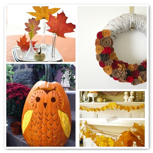 ::Warm:: fall decor