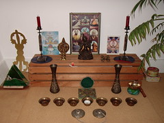 Amsterdam Buddhist Centre urban retreat shrine