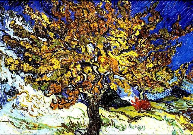 Mulberry Tree, by Van Gogh