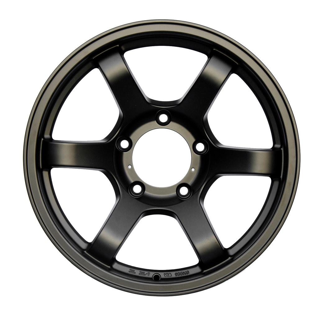 "FN Wheels - Model: BFD Matte Black - Size: 18x9"" - PCD: 5x150"