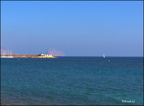 blue sea, Costa Blanca, 10-2011 by peti.art