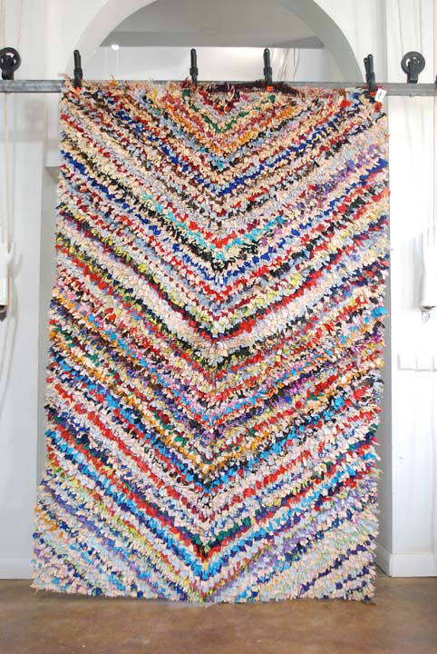 Moroccan Boucherouite Carpet No 640