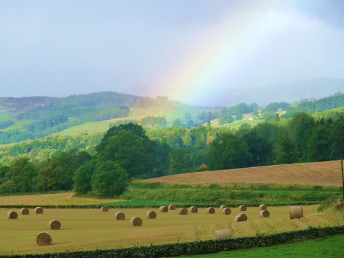 Rainbow over Perthshire