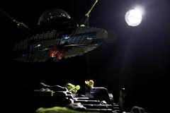 Alien Lego (JamesWoolley5) Tags: canon lego alien invaders 500d flashgun alieninvaders t1i