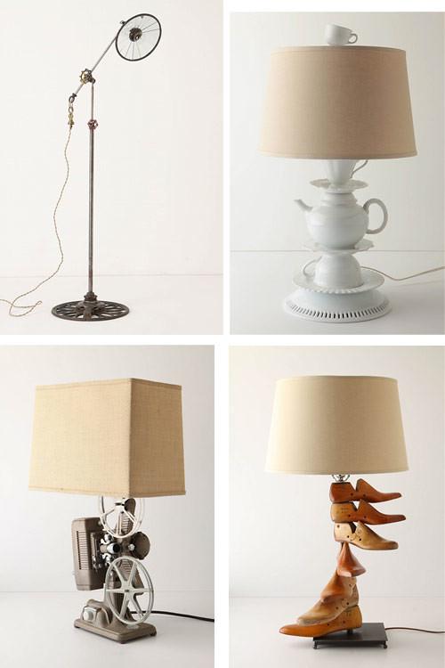 Anthropologie Lamp Bases