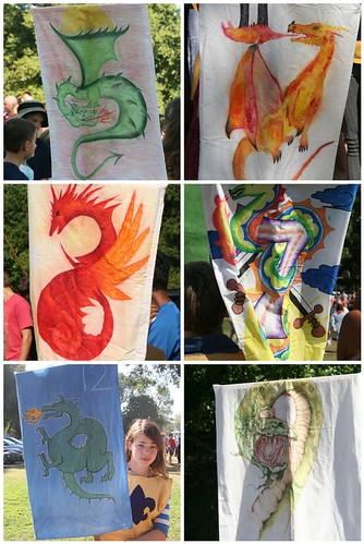 Dragon Banners from Michaelmas