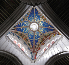 Cielo estrellado (Evelien Gerrits) Tags: madrid españa church architecture canon spain cathedral catedral iglesia kerk architectuur spanje kathedraal eveliengerrits catedraldesantamarialarealdelaalmudena