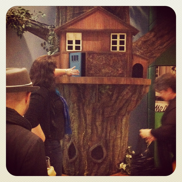 Mr. Dressup's treehouse