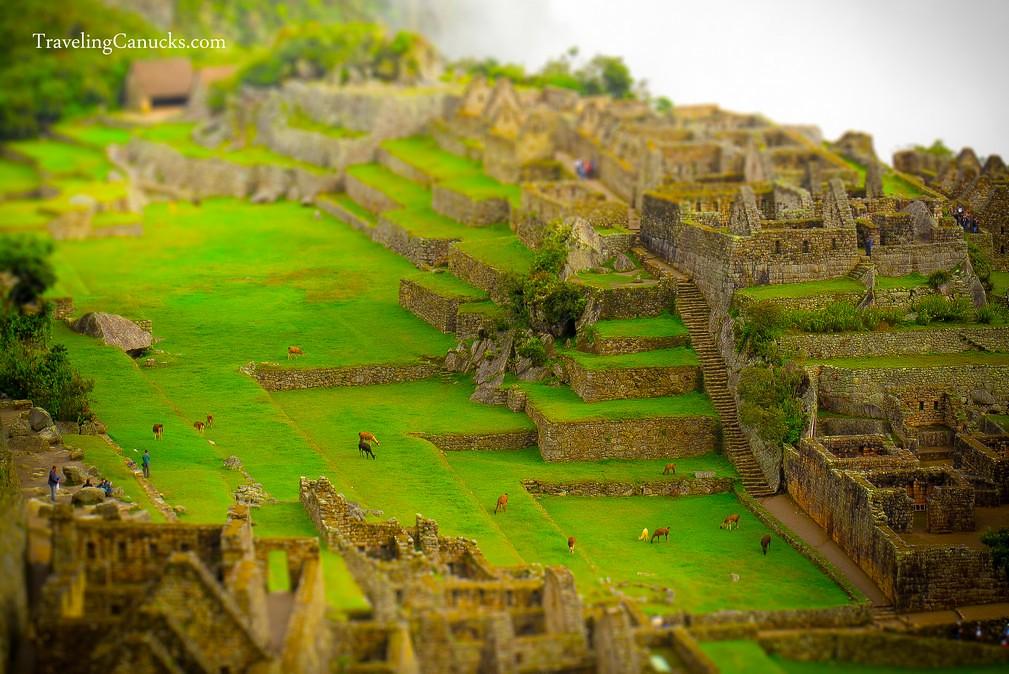 Machu Picchu Peru Miniature