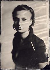 Kasia (Maciek Lesniak) Tags: portrait woman wet female zeiss large plate format tessar collodion 13x18 globica