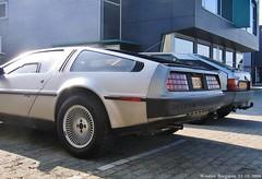 DeLorean DMC-12 1981 (XBXG) Tags: auto old usa classic car vintage de us back automobile voiture american future 1981 delorean dmc12 futuristic dmc almere futur ancienne lorean américaine