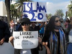 111019 Tunisian Islamists, unity activists sta...