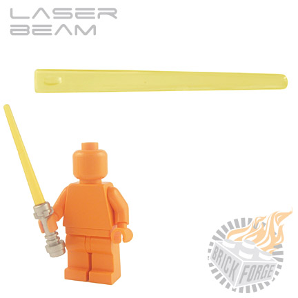 Laser Beam - Trans Yellow