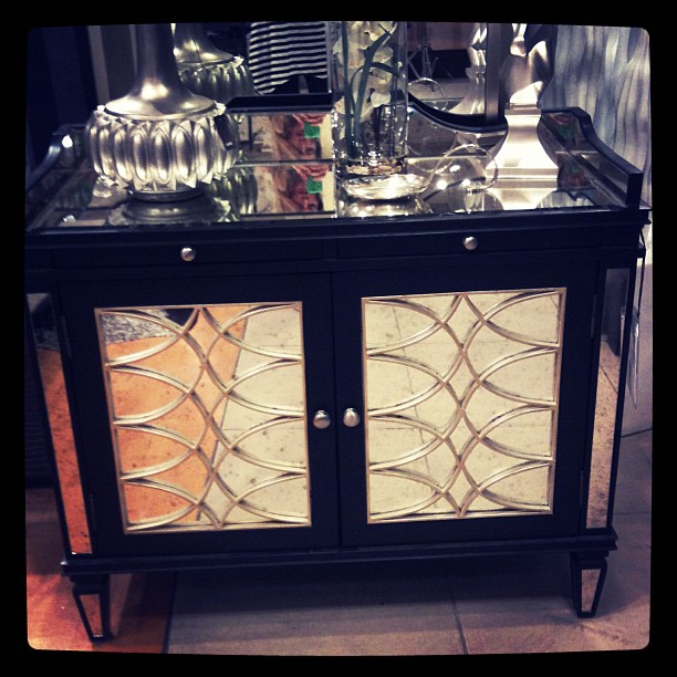 home decor, bar, dining room, buffet, zgallerie, furniture, mirrored furniture