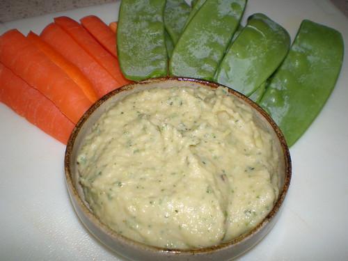 Zucchini White Bean Spread