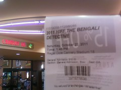 HIFF The Bengali Detective Movie ticket