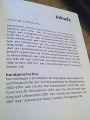 """""""Raven wegen Deutschland"""" Inhaltsverzeichnis"""