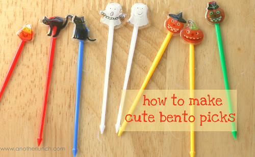 how to make bento picks