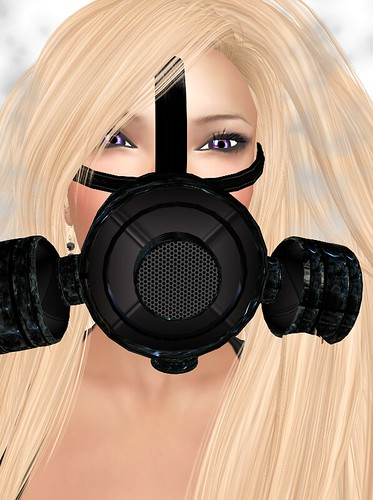 Gas Mask Detail