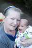 Atticus and My Mother (Torrie) Tags: grandma boy baby smile happy nikon infant grandmother newborn laugh d700 nikond700