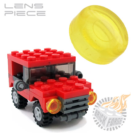 Lens Piece - Trans Yellow
