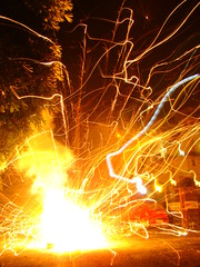 fireworks for Diwali (Adrakk) Tags: india festival fireworks cracker diwali firecracker ptard inde feudartifice pataka dipavali