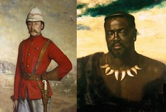 The British officer and The Zulu King (cool-art) Tags: africa war african colonial pre wars imperialism colonialism anglozulu