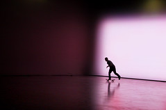 (atomareaufruestung) Tags: autumn shadow oktober man reflection berlin colors silhouette sport speed studio person october skateboarding herbst style skateboard jeffrey balance trick skateboarder outro pushing 2011 gettygermanyq4