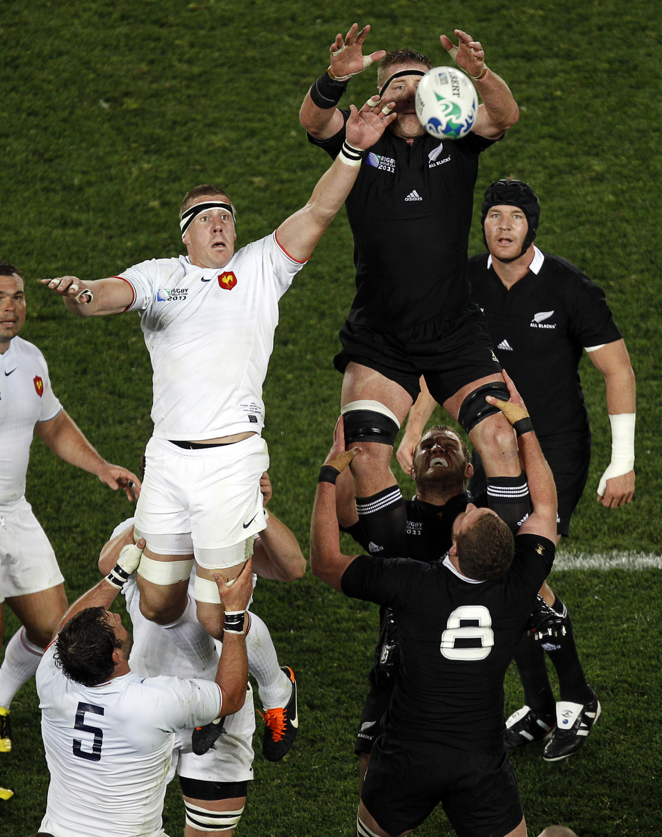 New Zealand WCUP Rugby World Cup France