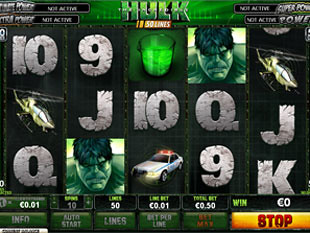 Incredible Hulk 50 Lines slot game online review