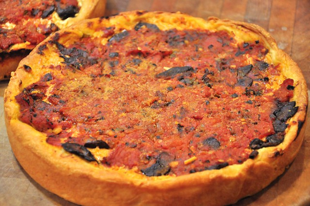 Chicago Style Deep Dish Pizza America S Test Kitchen