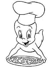 Casper the Pizza Man