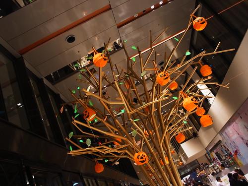 Halloween big Tree