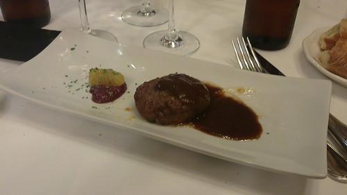 Pamplona | La Cocina de Alex Múgica | Hamburguesa de pato