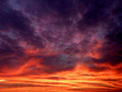 sunrise in mnster (redglobe*) Tags: autumn sunset red sky cloud sun color colour nature mnster