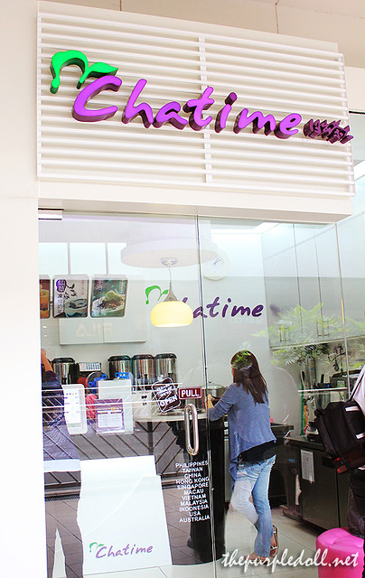 Chatime: Tea Time at MoA - The Purple Doll
