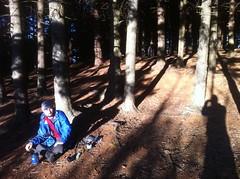 Kirk Camping Near Black Balsam Lot