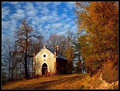 Autumn in Sudetes / Jesień w Sudetach (Rantes) Tags: autumn chapel goldenhour jesień silesia śląsk kapliczka kaplica lowersilesia dolnyśląsk lubawka świętagóra górykrucze złotagodzina