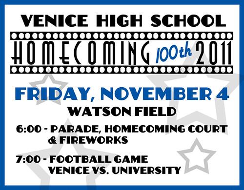 Venice High School Homecoming
